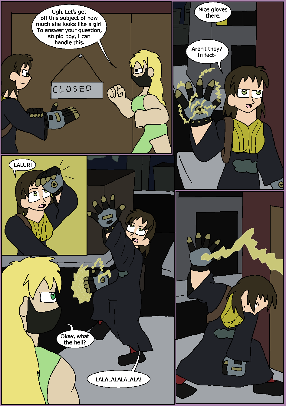 The Black Flame, Page 8
