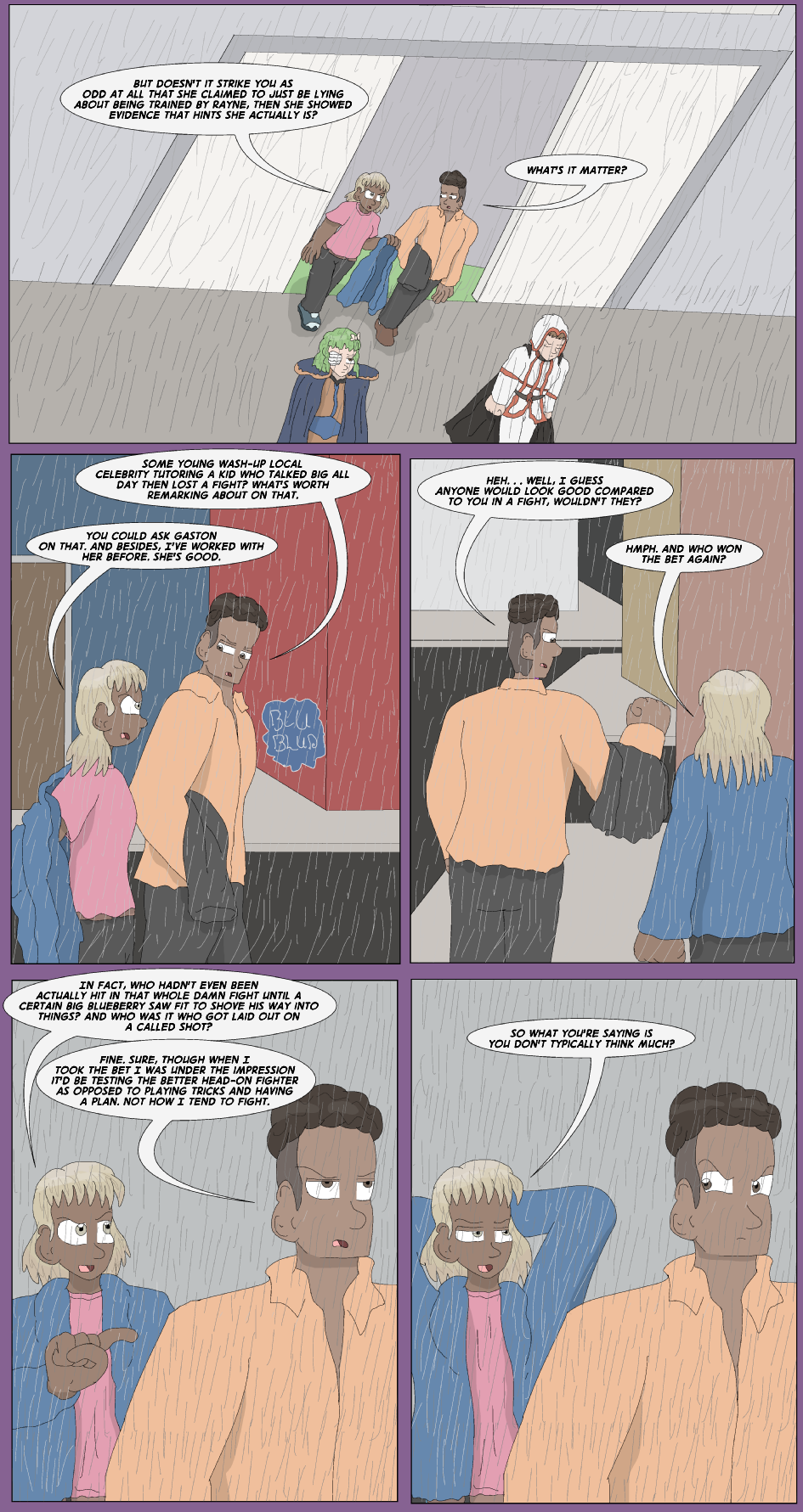 Filler: Flunkies, Page 1