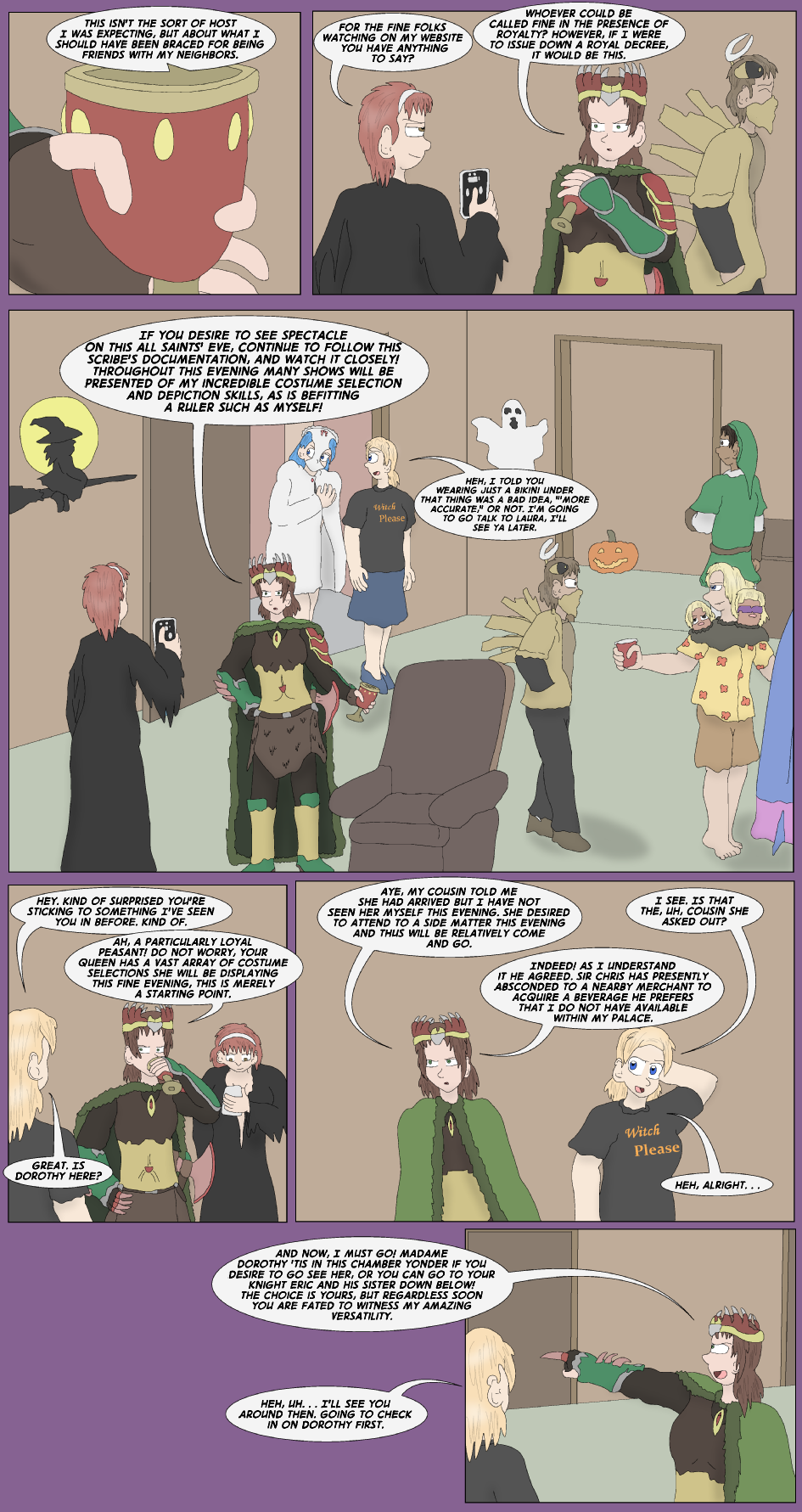 The DeKalb County Public Access Halloween Special, Page 6