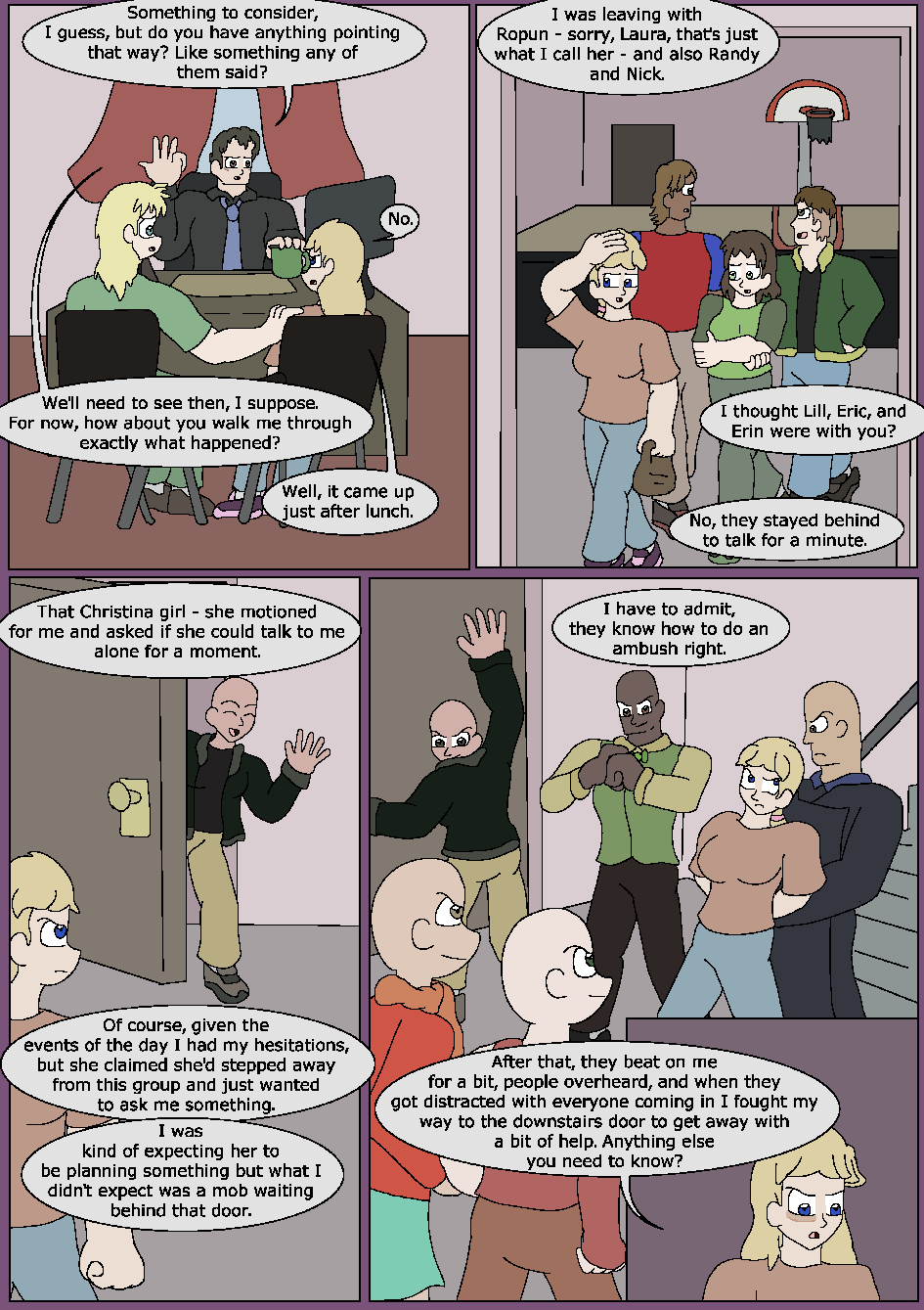 Skeletons in the Closet, Page 4