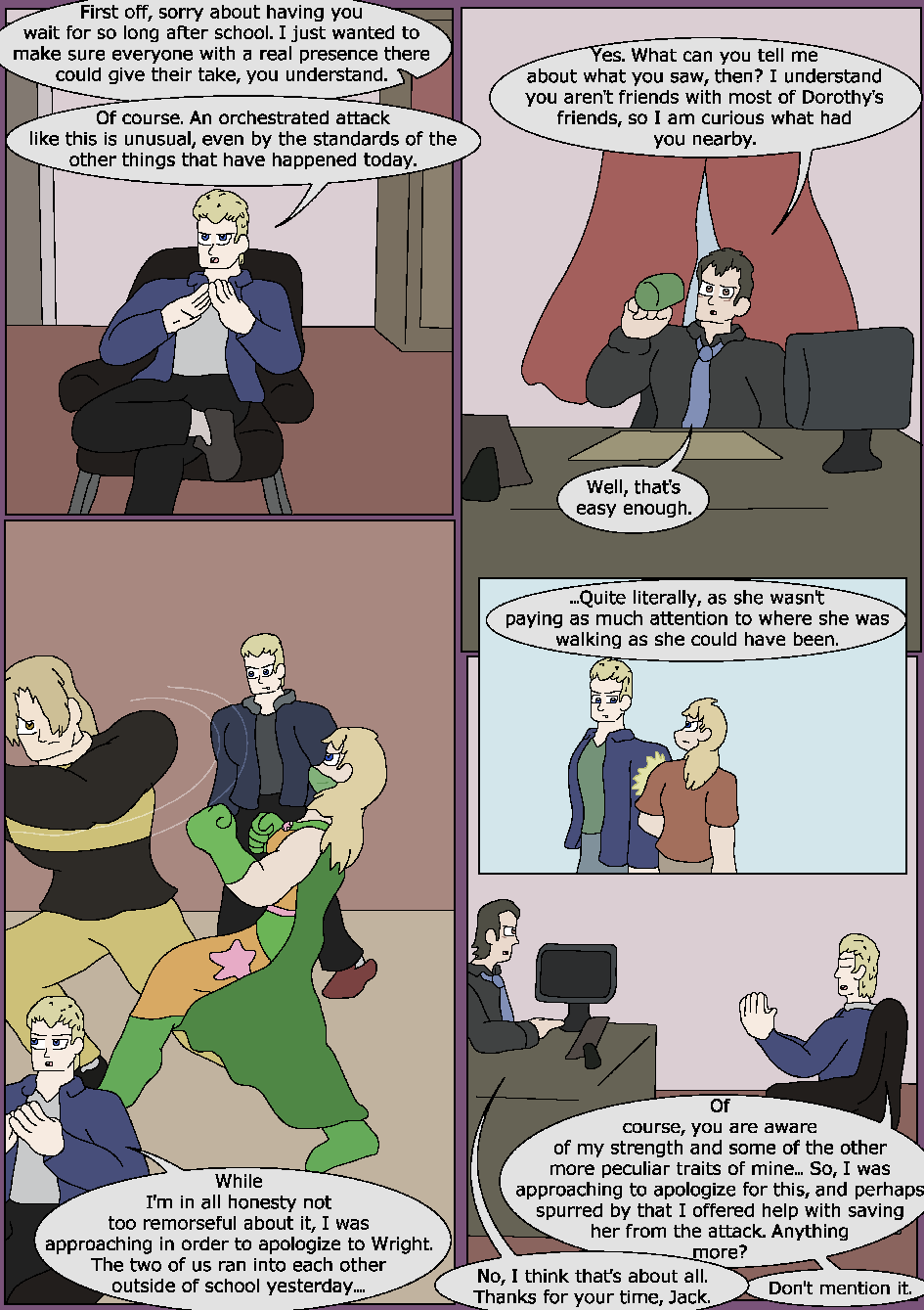 Skeletons in the Closet, Page 18