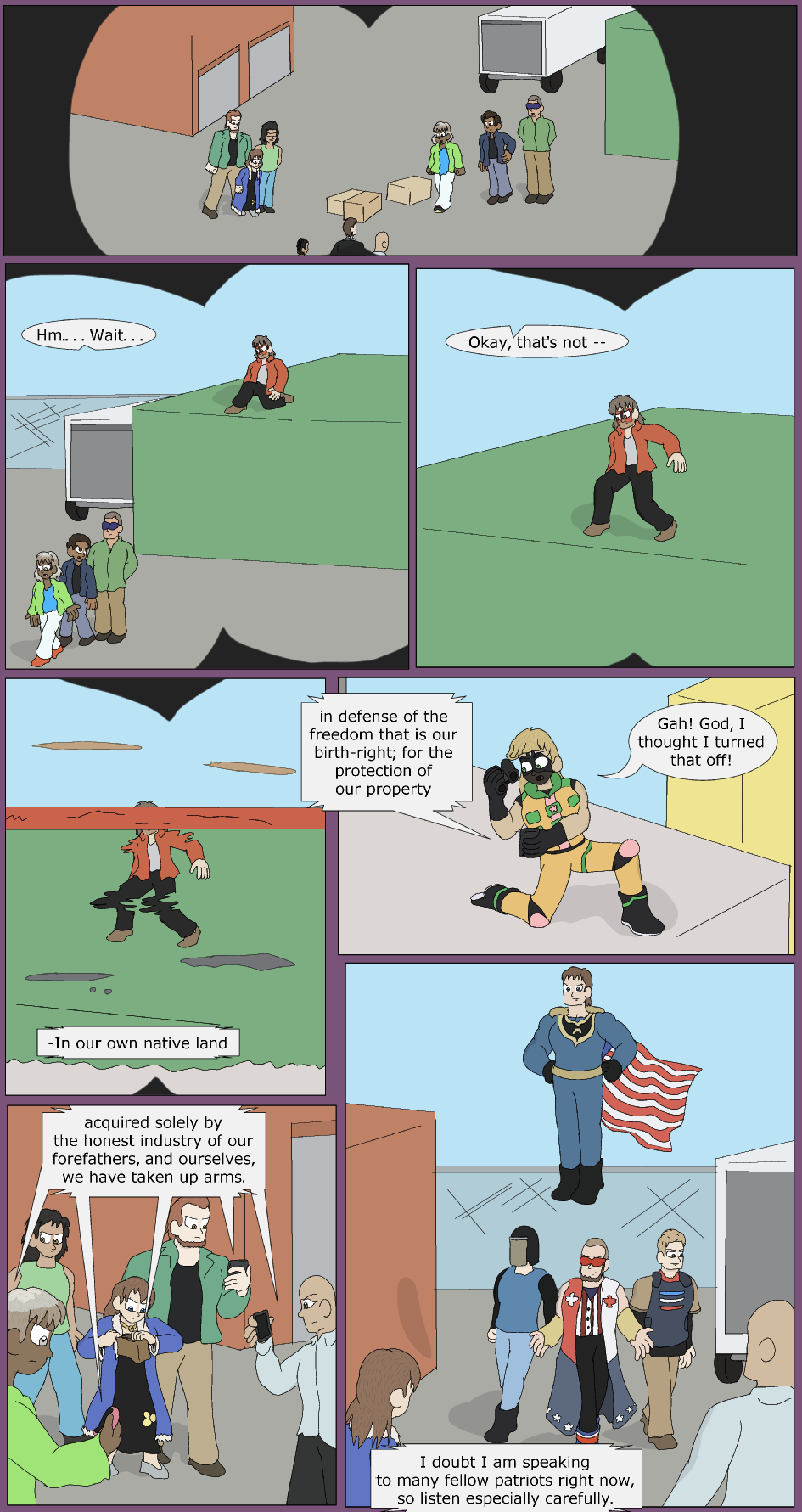 Red, White, and Blue, Page 13